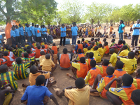 Football for Water in Tolon